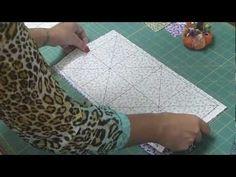 tecnica de triángulos perfectos, por metodo de cuadricula para formar estrellas y demás figuras en patchwork