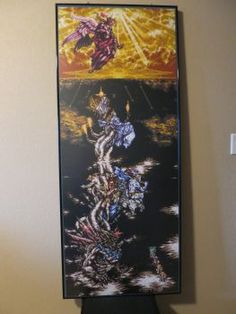 Final Fantasy VI - Tower of Kefka by on DeviantArt Perler Bead Art, Perler Beads, Final Fantasy Vi, Video Game Art, Video Games, Pixel Art, Finals, Nerdy, Tower
