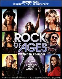 Rock of Ages Blu-ray Disc 794043154966 Front