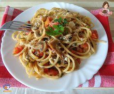 Spaghetti Alla Carrettiera, Almond Paste Cookies, Linguine, Italian Pasta, Gnocchi, Pasta Recipes, Italian Recipes, Food And Drink, Dinner