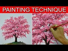 Learn How To Paint Coconut Tree - Instructional Acrylic Painting Lesson by JMLisondra - YouTube