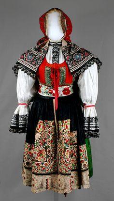 Moravian folk costume from Kyjov, Czech Republic