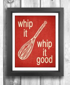Typographic Poster Digital Print Kitchen Wall art by Happy Letter Shop