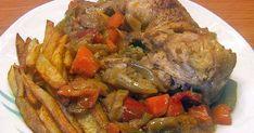 Σπιτικές παραδοσιακές συνταγές, μαγειρικής - ζαχαροπλαστικής, της γιαγιάς. Ratatouille, Pot Roast, Baking Recipes, Chicken Recipes, Beef, Cooking, Ethnic Recipes, Baked Food, Recipes