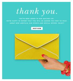 welcome to kate spade | welcome | WelcomeEmails | emailmarketing | email…