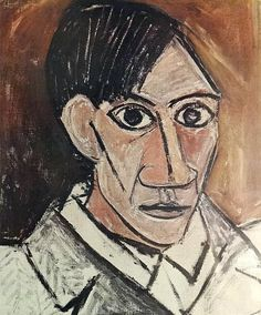 Famous Self-Portraits Art History Pablo Picasso Famous Self Portraits Pablo Picasso Work, Kunst Picasso, Picasso Art, Picasso Paintings, Oil Paintings, Landscape Paintings, Georges Braque, Guernica, Picasso Self Portrait