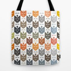 #dogs #pattern #husky #animal #pet #graphic #dog #fashion #style #totebag