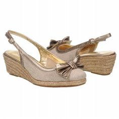 Anne Klein Gingery 2 Shoes (Natural/Bronze) - Women's Shoes - 6.0 M
