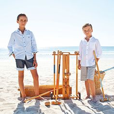 """Tarquin and Traxton are disappointed in the ratings for their new TV show, """"Croquet Watch,"""" which centers around 2 young boys who start a beach croquet business, only to find that croquet on soft sand doesn't work very well.  Maybe TV audiences are just not ready for the kind of intense personal conflict and resultant character development these two had in mind."""