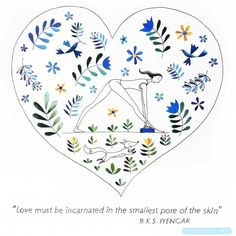 Love must be incarnated in the smallest pore of the skin