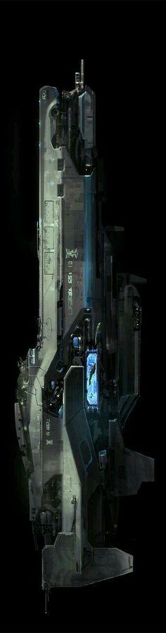 UNSC Strident-class heavy frigate