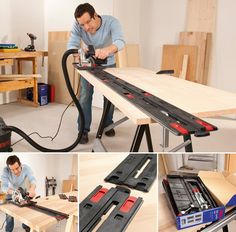 Perfectly straight, accurate cutting with a #circular #saw? It's no problem with the #Skil guide-rail! This new accessory is easy to set up, easy to use and easy to store.