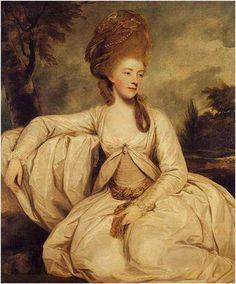 Georgiana Duchess of Devonshire, Sir Joshua Reynolds