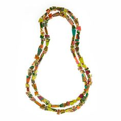 South Pacific Artisan Long Necklace $85.00 AUD