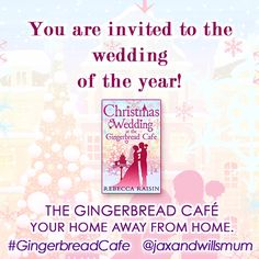 You're invited to Christmas Wedding at the Gingerbread Cafe
