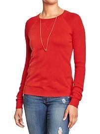 Women's Textured Sweaters