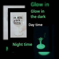 Halloween Wine Glasses, Glitter Wine Glasses, Halloween Gifts, Holidays Halloween, Spooky Halloween, Facebook, Handmade Decorations, Twitter, Craft Stores