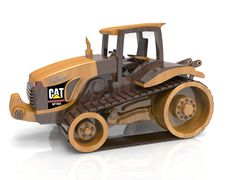 Cat Challenger MT865 Wood toy plan