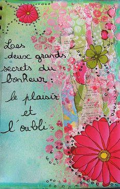 art journal bonheur 011 by edenscrap, via Flickr