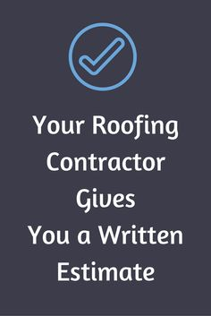 Before signing the contract, make sure it includes all the numbers for materials, cost of removing the old roof and adding the new roof, the price of replacing rotted plywood, and the timeframe to complete the work.
