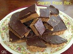 Homemade Reese Bars  https://www.facebook.com/photo.php?fbid=10153300438035405&set=a.350857125404.346166.818440404&type=1&theater