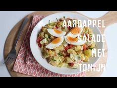 Aardappelsalade met tonijn | Flairathome.nl