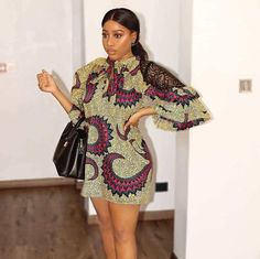 35 Ankara Short Gown Styles Designs 2019 (Updated Weekly) Quick note: This huge list of Ankara short gown styles is updated weekly. Here in Africa especially Nigeria, Ankara dresses are always a way to make a stat Latest Ankara Short Gown, Ankara Short Gown Styles, Short African Dresses, Ankara Gowns, Short Gowns, African Print Dresses, African Prints, African Fabric, Ankara Short Flare Gowns