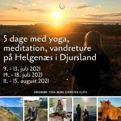 Glæd dig til et yoga retreat ved havet med vandring i den uspolerede natur på Helgenæs i Djursland. Du får undervisning i yoga og meditation morgen og eftermiddag. Vi starter dagen med yoga, der har fokus på åndedræt. Om eftermiddagen er yogaen meditativ, med lange afspændende udstræk. Programmet byder også på fritid til at bade og nyde den danske sommer. Kirsten Slots har 35 års erfaring med yoga, så du er i gode hænder og begyndere er velkomne.