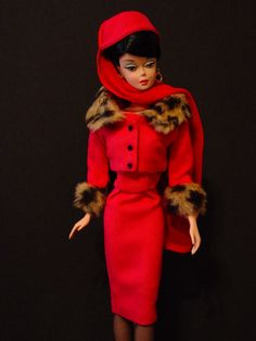 Matinee Fashion #1640, 1965    I used to have this Barbie (not the clothes, though :()