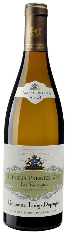 """MyGoodWines - Chablis 1er cru """"Les Vaucopins""""  Domaine Long-Depaquit - Vin de Bourgogne"""