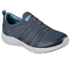 Easy wearing comfort meets sporty style in the SKECHERS Burst - Very Daring shoe. Soft mesh fabric upper in a slip on athletic fashion comfort sneaker with stretch elastic bands. Mesh Ribbon, Mesh Fabric, Skechers Performance, Comfortable Sneakers, Athletic Fashion, Sporty Style, Memory Foam, Shop Now, Adidas Sneakers