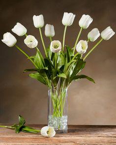 Open rose silk flower stem flower arrangements flowers and gardens mightylinksfo