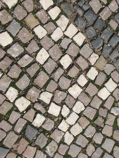 Pavement in Prague