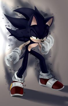 The other day, I finished watching all the story of Sonic X anime. Showdown of super shadow and super sonic, now hot on a united front! Dark Sonic, Sonic 3, Sonic And Amy, Sonic Fan Art, Sonic The Hedgehog, Hedgehog Art, Shadow The Hedgehog, Super Shadow, Sonamy Comic
