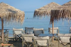 Kontogoni beach at Elafonissos island which is located in southeastern of the Peloponnese, Greece. It lies off the coast of Cape Malea. Campervan, Outdoor Furniture, Outdoor Decor, Sun Lounger, Greece, Swimming, Camping, Island, Beaches