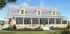 Texas Farmhouse Homes – Post Oak Farmhouse