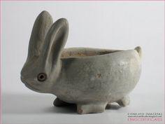Rabbit Bowl, Amatenango, Chiapas, Mexico Pottery Animals, Ceramic Animals, Clay Animals, Pottery Sculpture, Sculpture Clay, Pottery Art, Kids Clay, Pottery Handbuilding, Clay Art Projects
