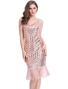KAYAMIYA Women's 1920s Sequined Fringe Gatsby costume Midi Party Dress M Champagne Gold KAYAMIYA http://www.amazon.com/dp/B0173DOOEO/ref=cm_sw_r_pi_dp_13bPwb0Q666JY