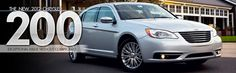 The most advanced 6-cylinder 3.6L Pentastar VVT V6 engine in the 2012 Chrysler 200  gives the Best-In-Class Horsepower of 283 hp and 260 lb-ft of torque.  Even more impressive is its fuel economy, 11L/100km in the city and 6.8L/100km on the highway.