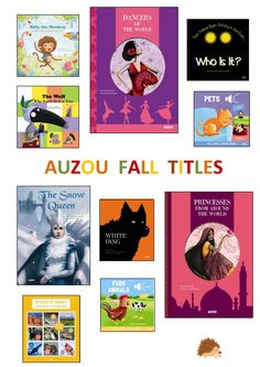 Auzou 2014 Fall Titles