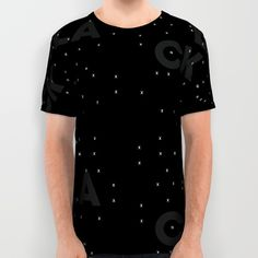 Black as night All Over Print Shirt by Joe Pugilist Design - $34.00