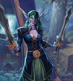 #wowtcg #warcraft #elfe #elf #rogue #voleur