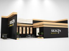 Marble Exhibition Stand Design