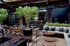 Terrasse Le Richmond http://www.123terrasse.fr/le-richmond #coffee #bar #restaurant #soleil #terrace #Montréal #spot #sun #jardin #garden