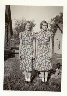 1930's twins