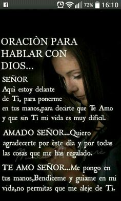 Amen Amen y Amen gracias senor God Prayer, Prayer Quotes, Bible Quotes, Daily Prayer, Spanish Prayers, Morning Prayers, Prayer Board, God Jesus, Religious Quotes