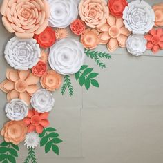 """New Item Alert!!!   Add the finishing touches to your paper flowers with these """"Natural"""" Style Paper Leaves."""