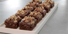 Try this Millionaire Brownies recipe by Chef Jasmin.This recipe is from the show The Great Australian Bake Off.