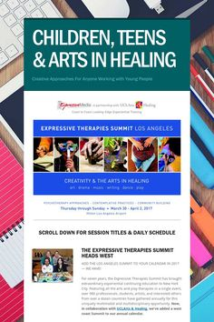 CHILDREN, TEENS & ARTS IN HEALING