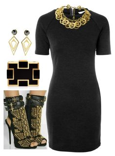 """""""Little Black Dress"""" by ljbminime ❤ liked on Polyvore featuring Sondra Roberts, Glamorous, Chanel, Sarah Magid, women's clothing, women's fashion, women, female, woman and misses"""